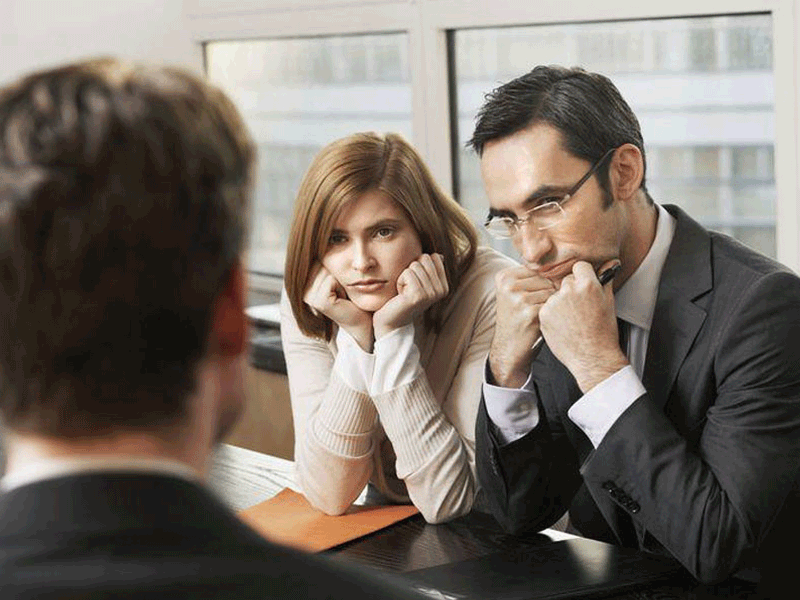 How not to pass the interview?